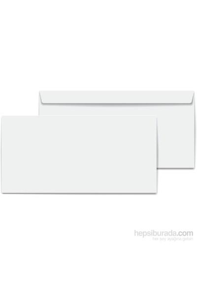 Asil Diplomat Zarf Ölçüleri 105X240 Beyaz 500 Adet