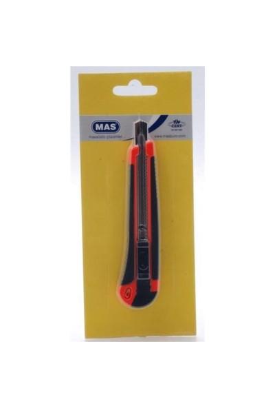 Mas 2741 Kauçuk Gövdeli Maket Bıçağı (Küçük)