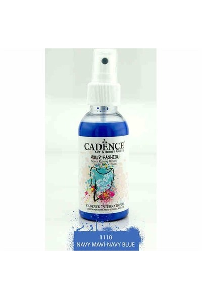 Cadence Your Fashion Sprey Kumaş Boyası 100 Ml. Mavi 1110