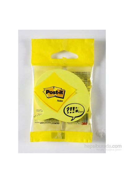 Post-it® Not, Konusma Balonu Seklinde, 75 yaprak