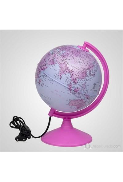 Işıklı Pembe Küre 20 Cm