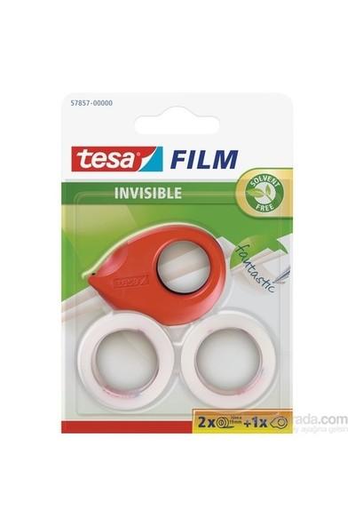 Tesa Mini Bant Kesici (El Tipi) + 2adt Görünmez Film Bant 10m 19mm