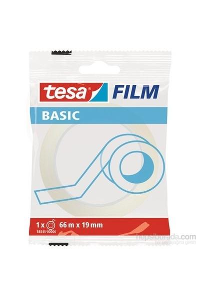 Tesa Basıc Film Şeffaf 66m 19mm