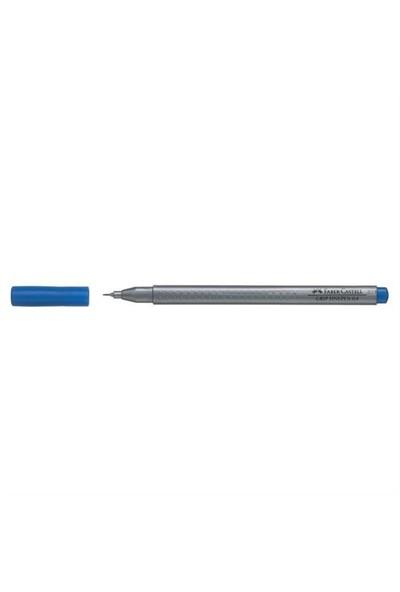 Faber-Castell Grip Finepen 0,4 Mm Koyu Mavi