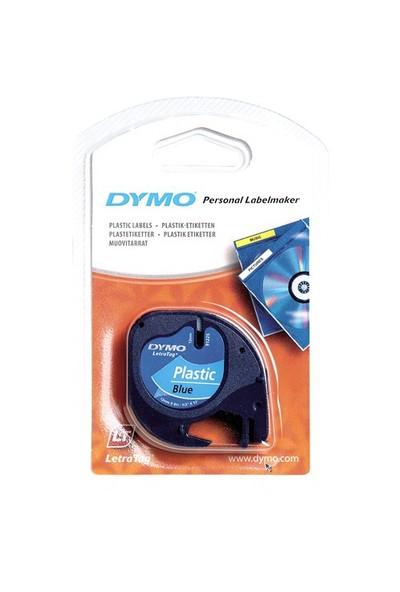 Dymo Şerit Let.Plastik 12Mmx4M Mavi 721650 59426