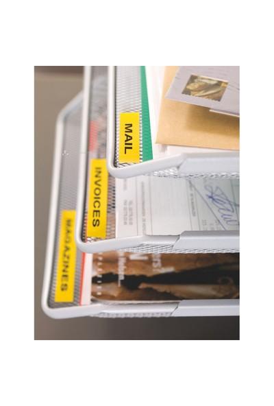 Dymo Şerit Let.Kağıt 12Mmx4M Beyaz 721510 59421