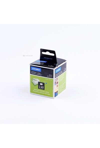 LW Adres Etiketi. 260 etiket/paket.89 x 28mm (99010)
