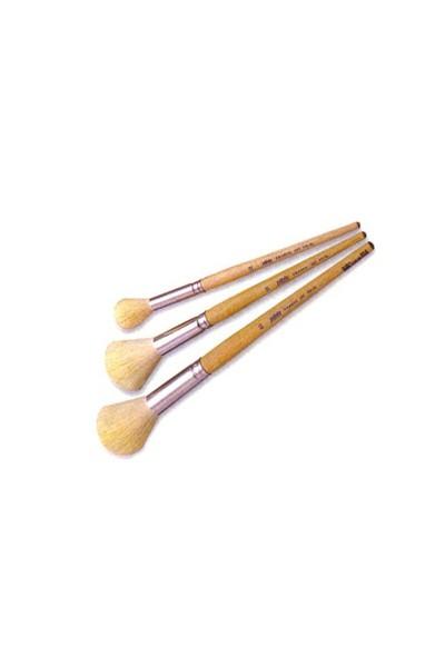 Pebeo 758 AL Ponpon Fırça - Beyaz Keçi Kılı No: 10 Fırça