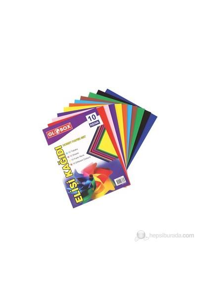 Globox Elişi Kağıdı A-4 10-Renk