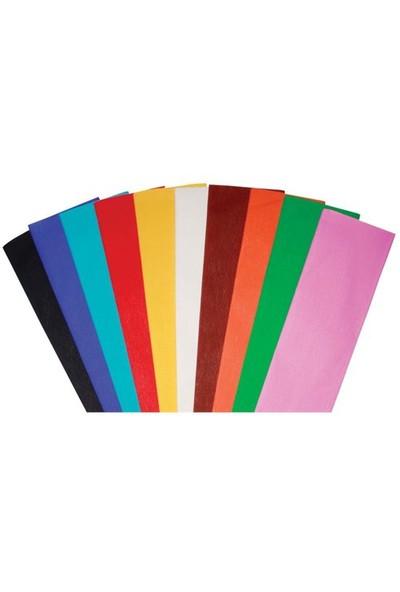 Gıpta Renkli Krapon Kağıdı 50X200 Turuncu