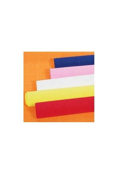 Gıpta Renkli Krapon Kağıdı 50X200 Siyah