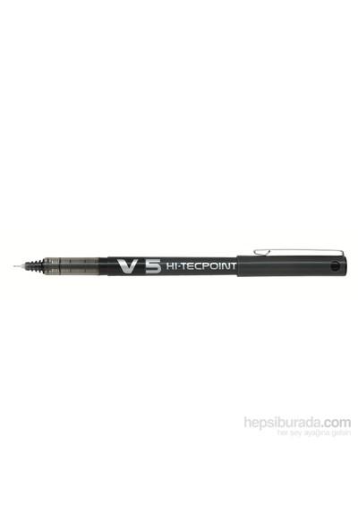 Pilot V5 Hı-Tecpoint Siyah (J) 12Li