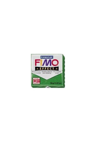 Fimo Effect Pırıltılı Yeşil 8020-502 56Gr.