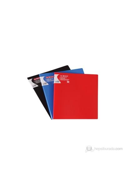 Globox Sunum Dosyası Kırmızı 30-Sayfa 6197