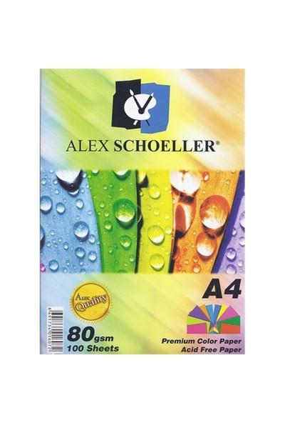Alex Schoeller Fotokopi Kağıdı A4 Renkli Krş. 50 Li Alx-621