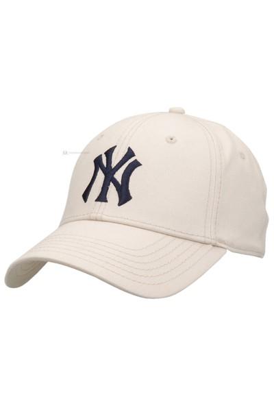 New Era Cortland Ny Şapka - Beyaz