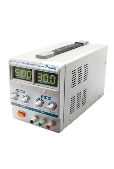 Proskit Te-5305B Dc Güç Kaynağı Tek Kanal 30V-5A