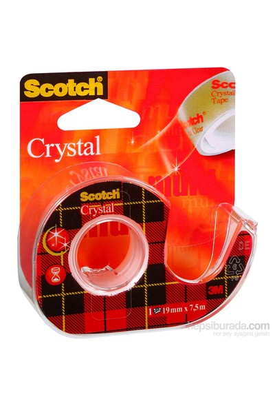 Scotch® Kristal Bant, Kesicili, 19mmx7,5m