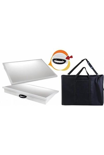 Garanti 35X50 Taşıma Çantalı Işıklı Çizim Masası