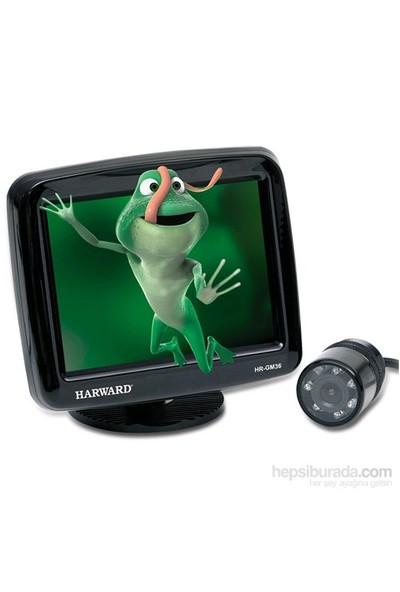 Harward HR-GM36 Monitör & Geri Görüş Kamerası