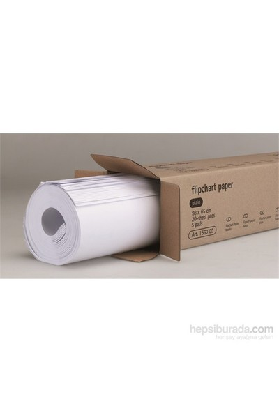 Flipchart Kağıdı Kareli (98x65cm 100 Sayfa)