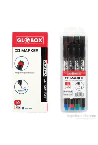 Globox Cd Kalemi S Karışık 4'Lü