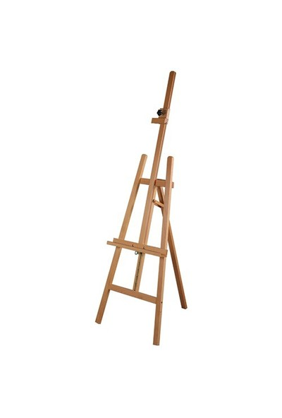 Snapper Yüksekliği Ve Açısı Ayarlanabilir Kelepçeli Ahşap Şövale