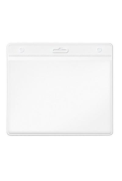 Mas 3516 Plastik Kart Poşeti Güvenlik Tipi Yatay 85 115 Şeffaf Başlık 100 Lü