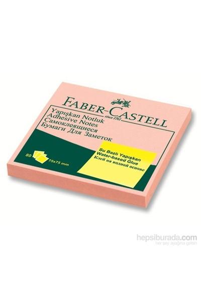 Faber-Castell Yapışkan Notluk Harmony 75x75mm Pembe