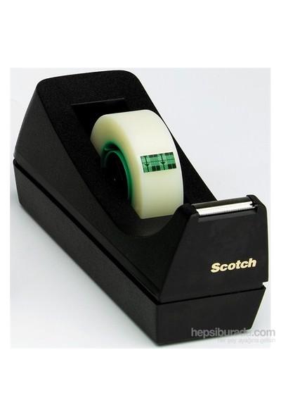 Scotch® C-38 Bant Kesici, Siyah, Masa üstü, 33m bant için