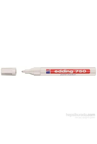 Edding 750 Boyama Markörü (Beyaz)