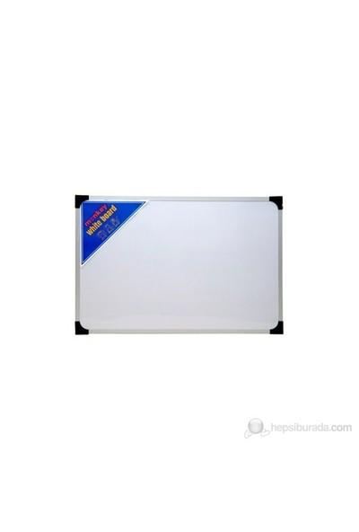 Monkey 120 x 200 Metal Çerçeve Duvara Monte Yazı Tahtası (Beyaz-Yeşil-Siyah) Dmyt0120200