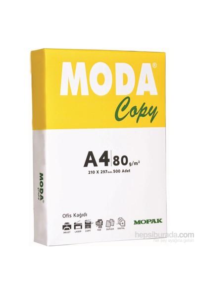 Mopak Moda Copy A4 80 Gr/m² Fotokopi Kağıdı 500 sf 5'li Paket / Koli