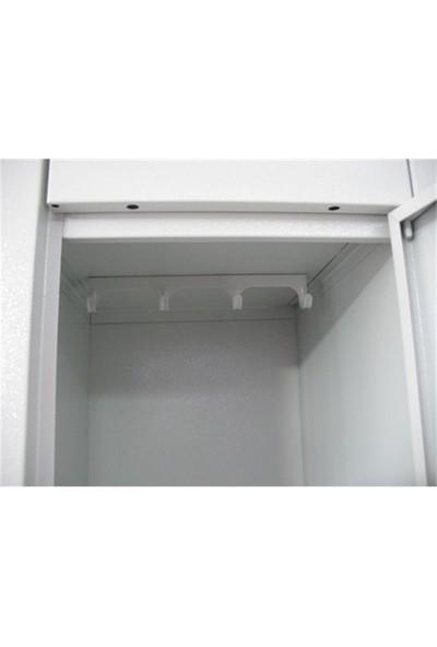 SCA-6YD Altılı Soyunma Dolabı - 97x37x200 Cm (Küçük Ölçü)