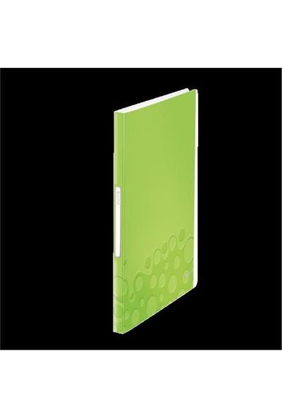 Leitz Active Wow Sunum Dosyası 40 Poşetli Metalik Yeşil 46320064