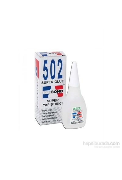 Evo Bond 502 Super Glue Süper Yapıştırıcı (Orjinal)
