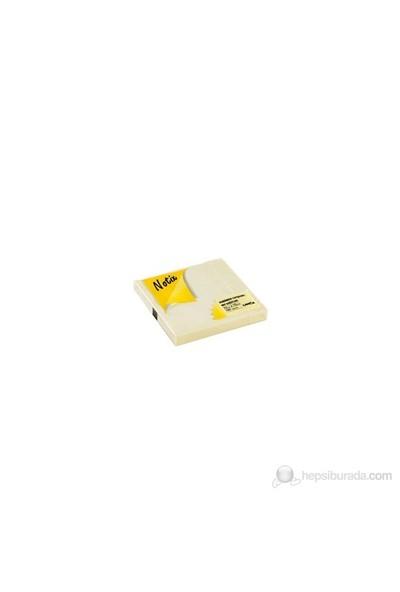 Notix Pastel Sarı 100 Yaprak 75x75 Yapışkanlı Not Kağıdı