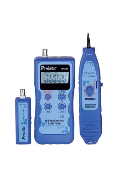 Proskit Mt-7059 Lcd Ekranlı Kablo Test Cihazı