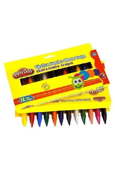 Play-Doh Jel Crayon Extra Jumbo 12 Renk Play-Cr011