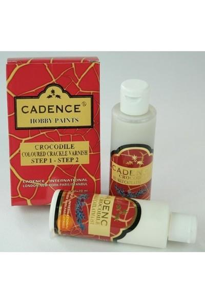 Cadence Crocodile Renkli Çatlatmalar Step 1-Step 2 70 ml