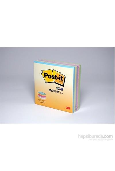 3M Post-it® Küp Not, Pastel Renkler, 225 yaprak, 76mm76mm