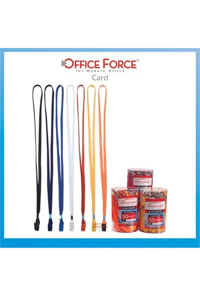 Office Force Plastik Klipsli İp