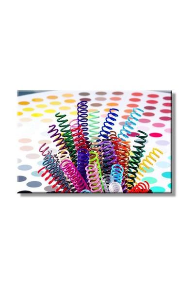 Mapicoil 8 mm Plastik Helezon Spiral Şeffaf 100 Lü (235 08 04)