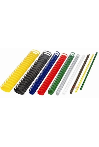 Office Force 12 mm Beyaz Plastik Spiral Cilt Malzemesi 100'lü