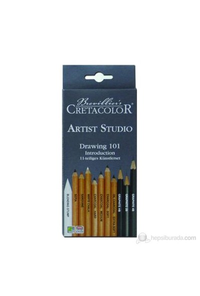 Cretacolor Artist Studio Drawing 101 (Kuru Boya) Set Karton Kutu