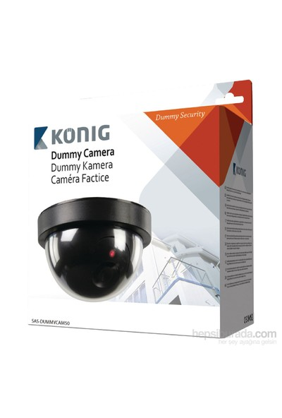 König Caydırıcı Güvenlik Kamerası DUMMYCAM50