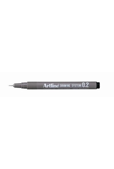 Artline Çizim Kalemi Drawing System 232 Mavi