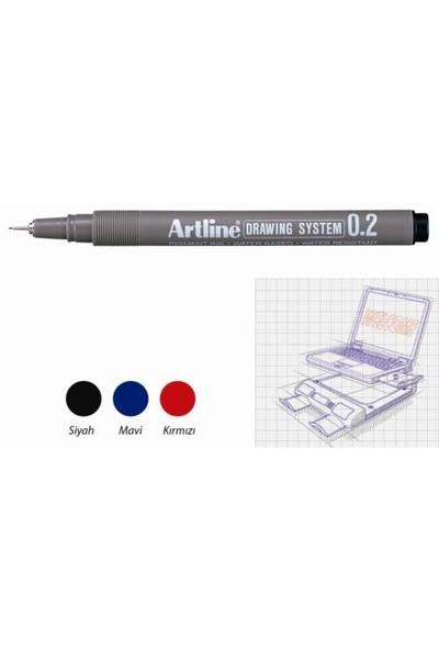 Artline Çizim Kalemi Drawing System 232 Siyah