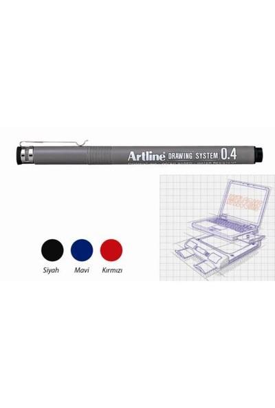 Artline Çizim Kalemi Drawing System 234 Siyah