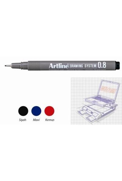 Artline Çizim Kalemi Drawing System 238 Siyah